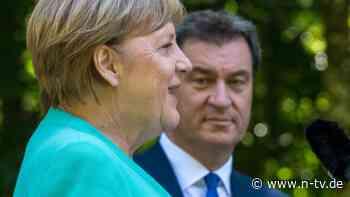 Seehofer drückt aufs Tempo: Söder will Merkel bei K-Frage miteinbeziehen