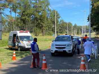 Prefeitura instala barreiras sanitárias na entrada de Itirapina - São Carlos Agora