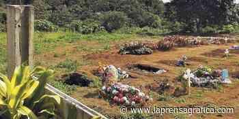 Cementerio covid-19 en Sonzacate, sin permisos - La Prensa Grafica
