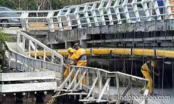 Obras das pontes que ligam Jardim Oceânico a Barrinha e Itanhangá são retomadas - Jornal O Globo