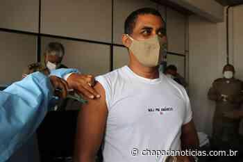Itaberaba inicia vacinação de policiais contra a covid-19 - chapada notícias