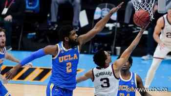 March Madness: Gonzaga beats UCLA on last-second OT shot to keep perfect season alive