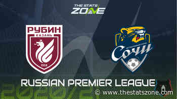 2020-21 Russian Premier League – Rubin Kazan vs Sochi Preview & Prediction - The Stats Zone