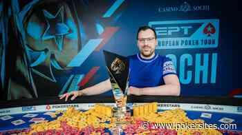 Artur Martirosian Wins EPT Sochi Main Event as Live Poker Makes Its... - PokerSites.com