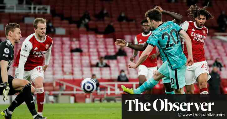 Jota and Salah earn crucial Liverpool win at Arsenal to boost top-four hopes