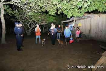 Realizan evacuaciones preventivas en el caserío Santa Marta, Tecoluca, San Vicente - Diario La Huella