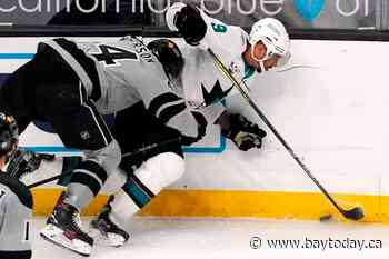 Gambrell, Sharks strike late in 3-2 win over Kings