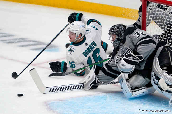 Gambrell, Sharks hold off Kings late