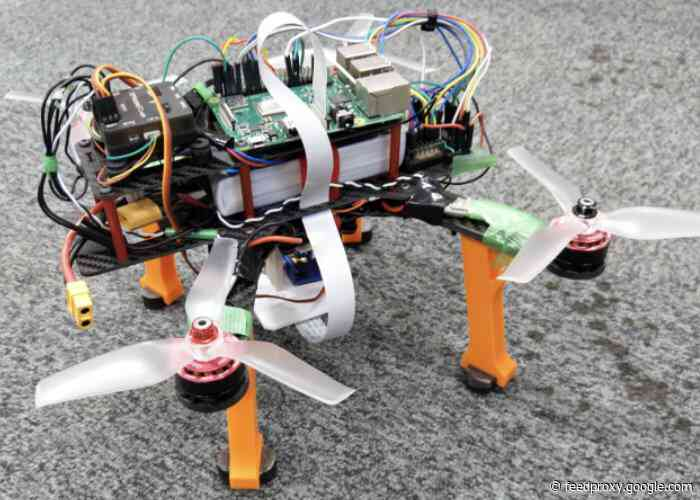 Raspberry Pi automated drone landing system