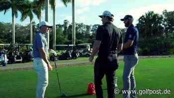 Driving-Training mit Rory McIlroy und Dustin Johnson - Golf Post