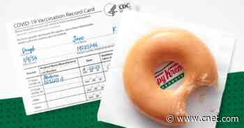 Free Krispy Kreme vaccine doughnuts are really happening. How to get one every single day     - CNET