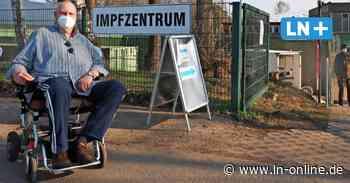 Impfzentrum Wahlstedt nicht barrierefrei: Scharfe Kritik von Rollstuhl-Fahrern - Lübecker Nachrichten