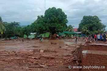 Heavy rains trigger landslide, floods in Indonesia; 23 dead