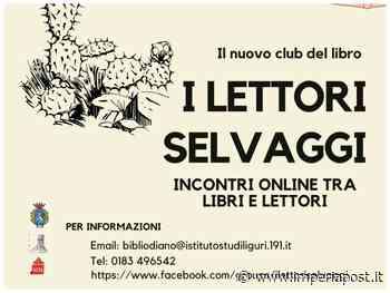 """Diano Marina: biblioteca, nasce il gruppo di lettura """"I Lettori Selvaggi"""". Incontri mensili su piattaforma digitale - IMPERIAPOST"""