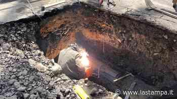 Nuova rottura dell'acquedotto Roja sull'Incompiuta, Diano Marina resta a secco - La Stampa