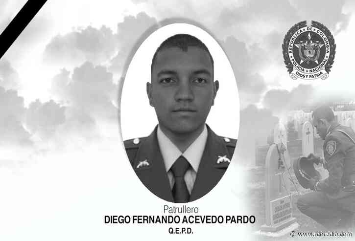 Patrullero de la Policía fue asesinado en zona rural de Liborina, Antioquia - RCN Radio