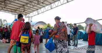 Arauca: 300 migrantes más llegaron a Saravena desplazados - Radio Nacional de Colombia