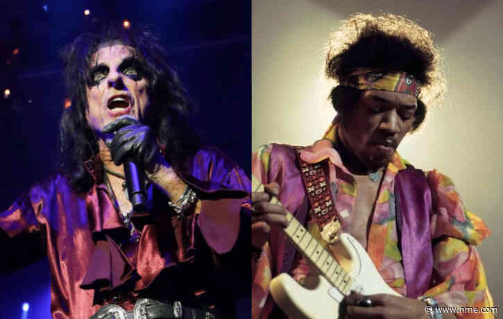 Alice Cooper reveals his first experience with drugs was with Jimi Hendrix