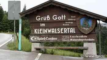 Oberstdorf unterstützt Öffnungen im benachbarten Kleinwalsertal - BR24
