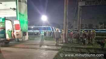 Dos ferroviarios electrocutados en los depósitos de lavado de Llavallol - Minutouno.com