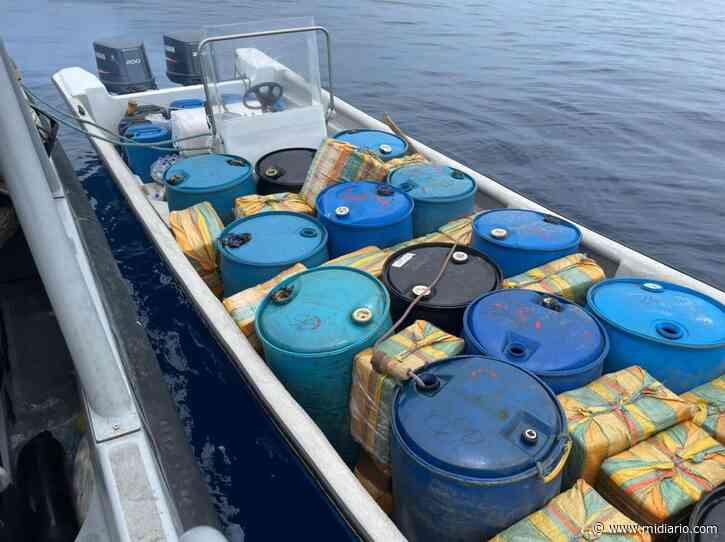 Senan incautan 900 paquetes de droga en Punta Burica. Detienen a dos nicaragüenses y un colombiano - Mi Diario Panamá