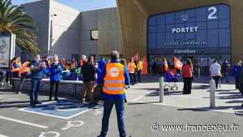 """Grève chez les salariés de Carrefour à Portet-sur-Garonne : """"On prend des risques tous les jours"""" - France Bleu"""