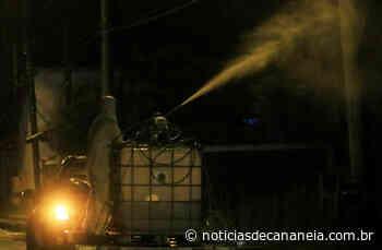 Prefeitura de Cananeia lança Operação Desinfecção nas ruas para evitar contaminação pelo novo Coronavírus - Noticia de Cananéia