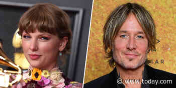 Taylor Swift confirms Keith Urban will sing on her next album after speculation from fans