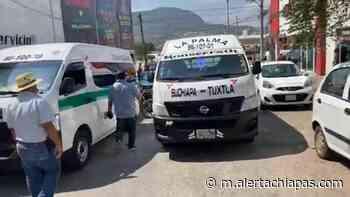 Transportistas de Suchiapa denuncian pirataje solapado - Alerta Chiapas