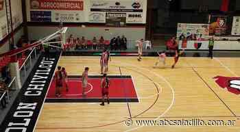 Victoria de Colon ante Estudiantes LP en el Torneo Federal - ABC Saladillo