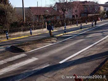 Cominciano i lavori per rallentare la velocità su via Rivasi a Cavriago - sassuolo2000.it - SASSUOLO NOTIZIE - SASSUOLO 2000
