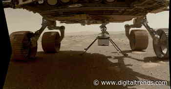 NASA's Mars helicopter touches down on the Martian surface