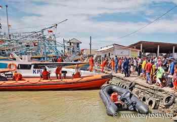 Indonesia boat collision kills 2 fishermen, 15 missing