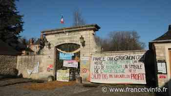 """REPORTAGE. """"Moins de béton, plus de moutons"""" : à Grignon, des étudiants d'AgroParisTech bloquent leur campus p - franceinfo"""