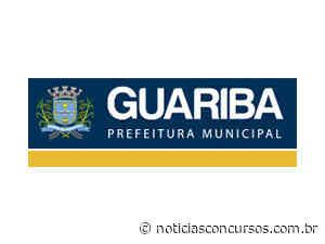 Prefeitura de Guariba SP anuncia novo Processo seletivo - Notícias Concursos