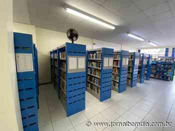 Biblioteca Dr. Gladstone Osório Mársico oferece acervo de 35 mil livros   Jornal Bom Dia - Jornal Bom Dia