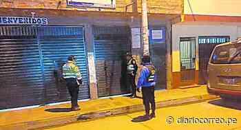 Odpe de la provincia de Jauja reubica oficina tras hallar a personas libando en local que había alquilado - Diario Correo