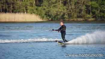 Trotz Corona: Wasserski-Sportler aktiv – es läuft nur etwas anders | Nordkurier.de - Nordkurier