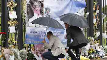 Enthüllung am 1. Juni: Harry und William segnen Diana-Statue ab