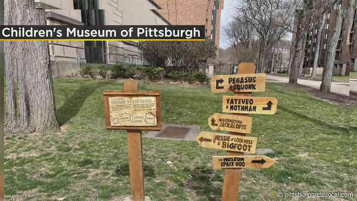 New 'Cryptid Critter' Outdoor Exhibit Opens At Children's Museum Of Pittsburgh