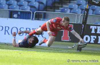 Scarlets claim first victory at Murrayfield for eight years - Welsh Rugby Union