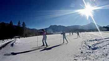 Langlaufsaison in der Jachenau: Kurz, aber heftig - Merkur Online
