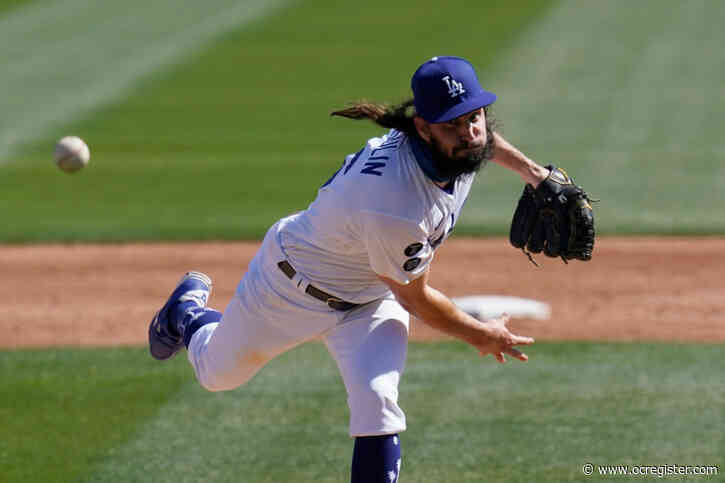 Dodgers place Tony Gonsolin on IL with shoulder injury