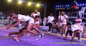 Ranga Reddy men face Gadwal in inter-district kabaddi final - Telangana Today