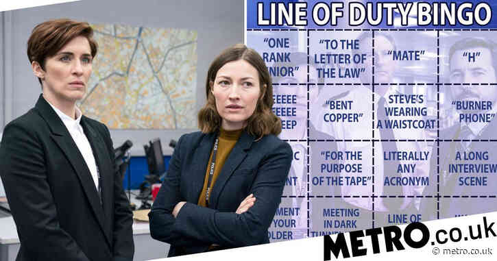 Line of Duty series 6: How to play bingo based on iconic quotes from Ted Hastings and co