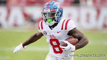 Elijah Moore 2021 NFL Draft profile: Fantasy football outlook, scouting report, 40-yard dash, Pro Day stats