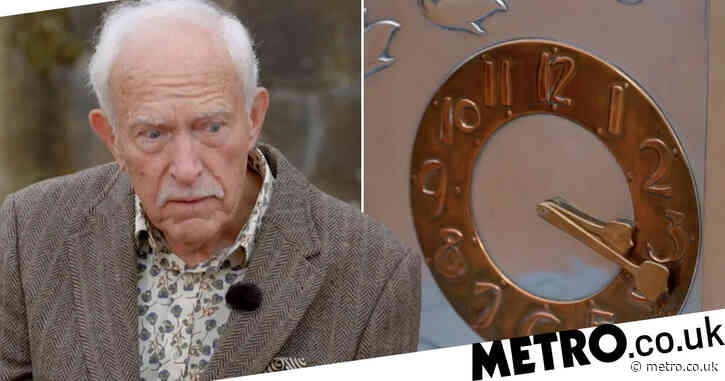 Antiques Roadshow: Pensioner gobsmacked as clock he's kept on sideboard for 20 years receives £20k valuation