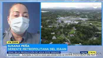 Almacene agua, trabajos en la planta potabilizadora de Chilibre dejarán sin suministro a la capital - TVN Noticias