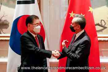South Korea and China seek to improve ties despite US tensions - Lancaster and Morecambe Citizen