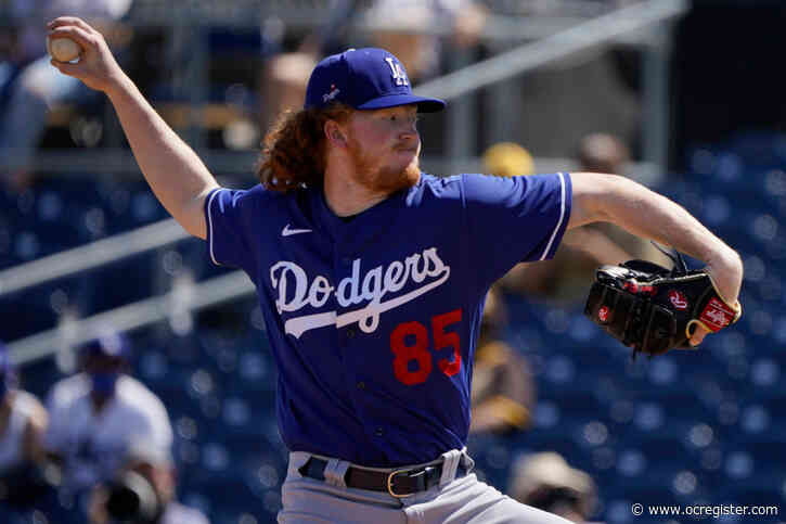 Dodgers' Dustin May ready to bring the heat in his first start of the season
